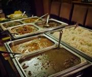 Five-curry buffet