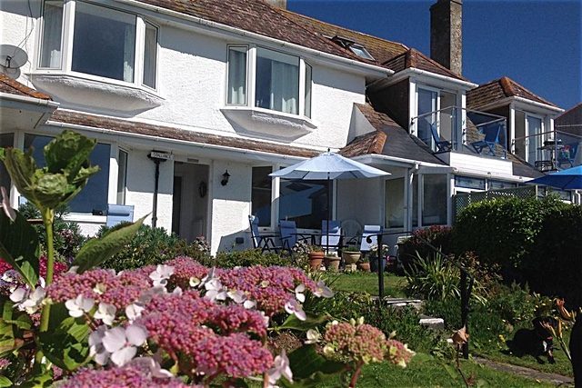 Holiday House with sea view for rent in West Looe, Cornwall