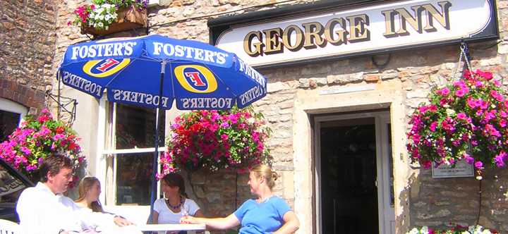 About us at The George Inn, Croscombe just 2 miles from Shepton Mallet and Wells, Somerset