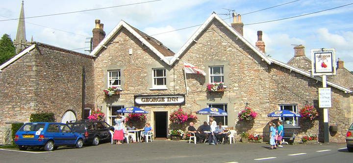 The George Inn - renowned for real ale, great food, comfortable rooms and a friendly welcome